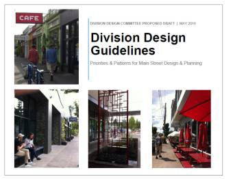 Draft Division Design Guidelines Cover Image